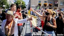 Deutschland Demonstration gegen Corona-Maßnahmen in Berlin