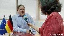 KAS Executive Director, in Tirana, Tobias Rűttershoff, in interview with DW. Juni 2020