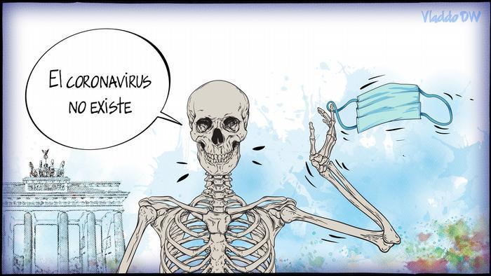 DW Karikatur Vladdo   Negacionismo