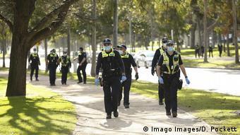 Полицейские в Мельбурне