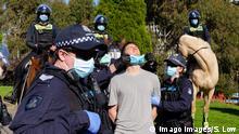 Australien Melbourne | Coronavirus | Neue Corona-Einschränkungen