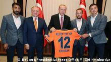 Türkei Super-Lig-Meister 2020 Istanbul Basaksehir | Erdogan