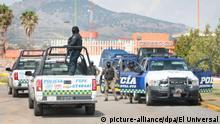 June 28, 2020: EUM20200628JUS07.JPG.GUANAJUATO, Gto., DetentionDetenciónfamilia Marro.- Operativo de seguridad en el Cereso de Puentecillas, en Guanajuato, en espera de que la mamá de ''El Marro'' abandone el penal. Domingo 28 de junio de 2020. Foto: Agencia EL UNIVERSALRDB. (Credit Image: © El Universal via ZUMA Wire |