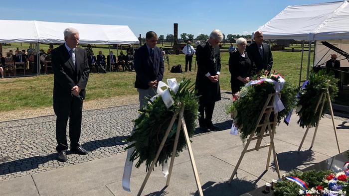 Polen I Gedenkfeier am Europäischen Holocaust Gedenktag für die Roma in Ausschwitz (DW/M. Mojkowska)