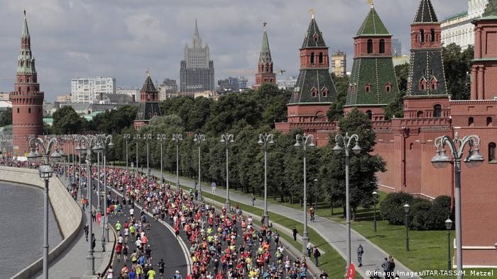 Полумарафон в Москве, 2 августа 2020 года