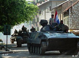 Hrvatski tenkovi ulaze u Knin 1995.