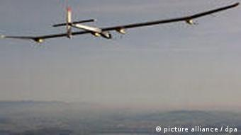 The solar plane 'Solar Impulse'