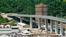 Italien Ponte San Giorgio Genua