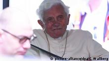 Deurschland Papst emeritus Benedikt XVI
