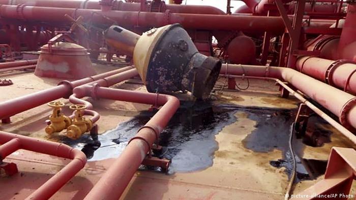 Jemen Ras Isa | Verlassener Öltanker | Mögliche Ölkatastrophe