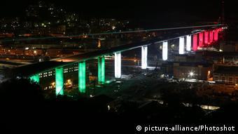 Italien Genua   Neue Brücke Ponte San Giorgio
