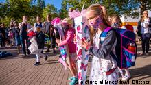 Pupils starting school (picture-alliance/dpa/J. Büttner)