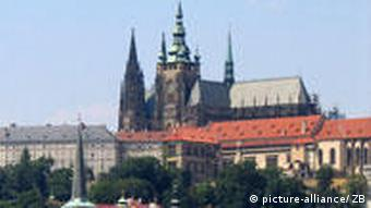 view of Prague, capital Czech Republic