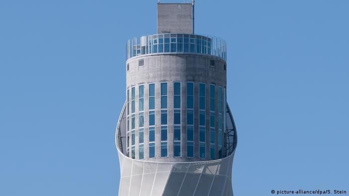 Башня для испытаний скоростных лифтов концерна Thyssenkrupp в Ротвайле