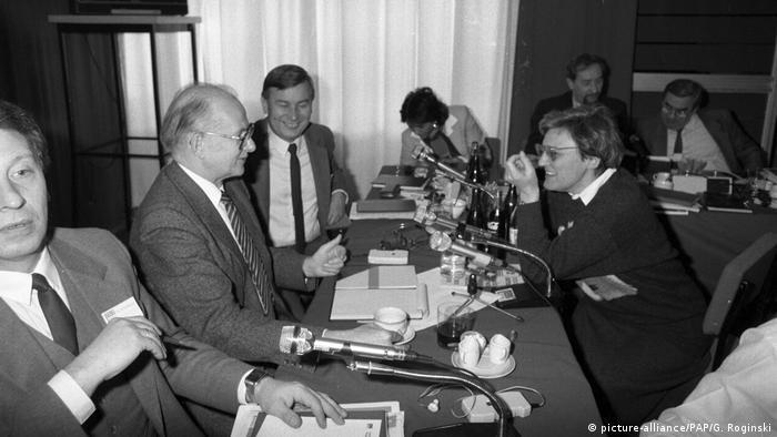 Renate Marsch na spotkaniu z wiceprezesem Rady Ministrów Zdzisławem Sadowskim