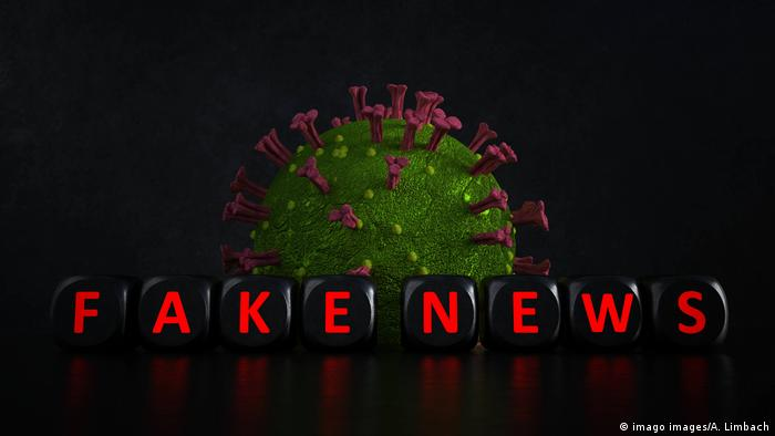 Corona Virus Fake News (imago images/A. Limbach)