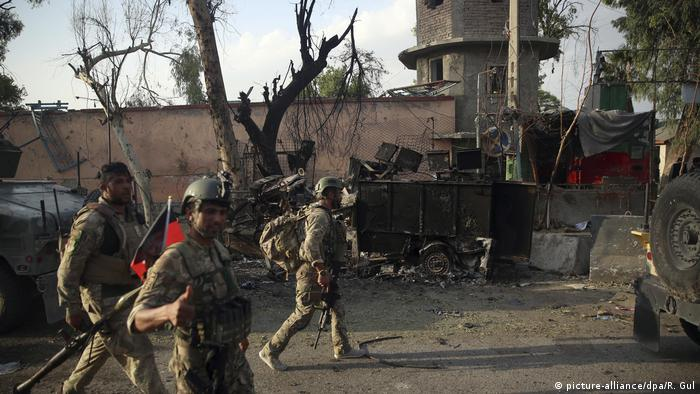 Afghanistan IS-Großangriff auf Gefängnis in Dschalalabad