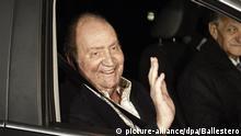 Juan Carlos verlässt Spanien