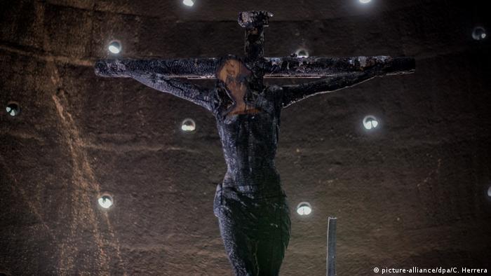 Anschlag auf Kathedrale in Nicaragua I Managua (picture-alliance/dpa/C. Herrera)