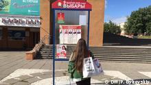 Weißrussland vor den Präsidentschaftswahlen