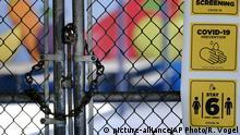 USA Los Angeles | Coronavirus | Geschlossene Schulen