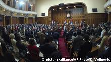 Serbien Belgrad | Eröffnung des serbischen Parlaments