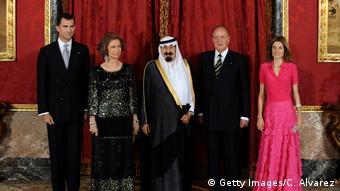 Στιγμιότυπο από επίσκεψη του Σαουδάραβα μονάρχη στην Ισπανία το 2008