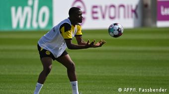 Youssoufa Moukoko has his eye on first-team appearances this season