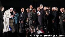 Japan Hibakusha | Überlebende Hiroshima Atombombenabwurf | Papst Franziskus