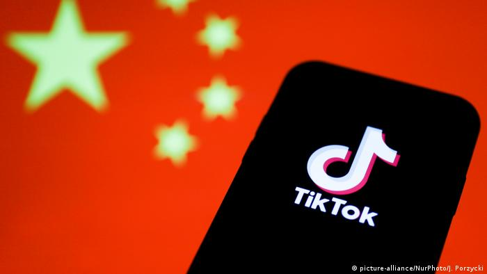 USA | US-Präsident Donald Trump will App Tiktok verbieten (picture-alliance/NurPhoto/J. Porzycki)