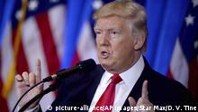 USA | US-Präsident Donald Trump will App Tiktok verbieten