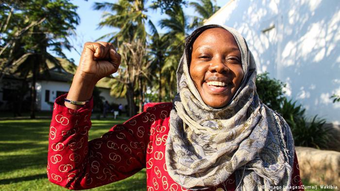 The environmental activist Phyllis Omido from Kenya