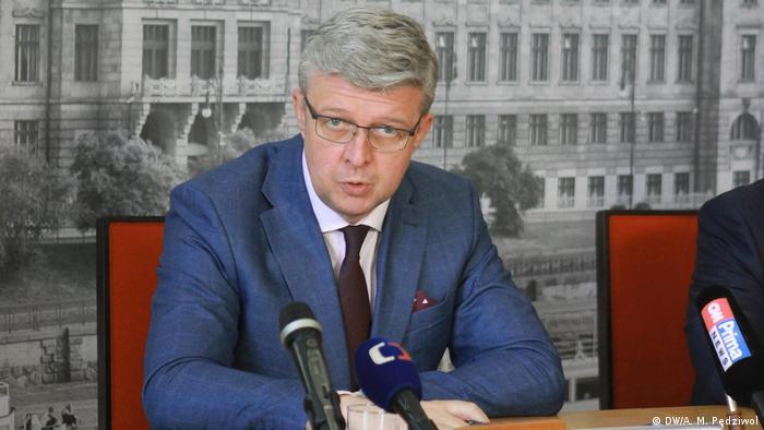Tschechien Vizepremier, Industrie- und Handelminister, sowie Verkehrsminister Tschechiens Karel Havlíček