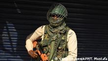 Indien Covid-19 Ausgangssperre in Kaschmir