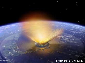 Meteoriteneinschlag Erde