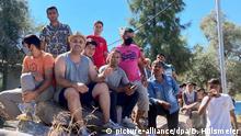 Griechenland | Ministerpräsident Laschet besucht das Flüchtlingslager Kara Tepe