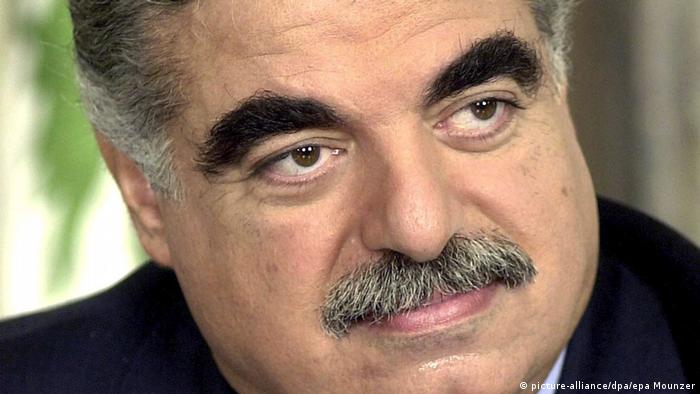 Der 2005 ermordete libanesische Ministerpräsident Rafik Hariri