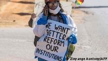 Simbabwe | Coronavirus | Protest