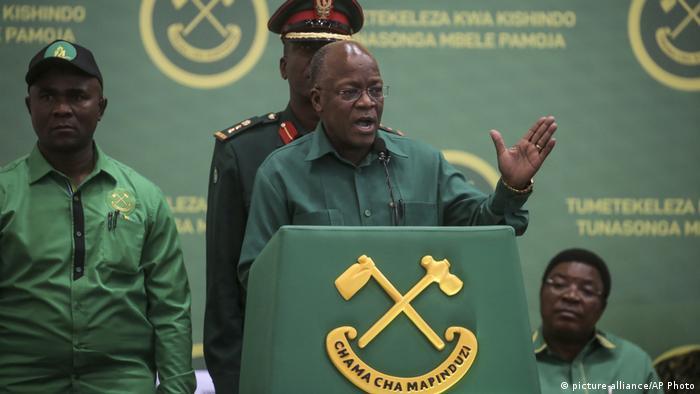 Tansania Wahlen 2020   John Magufuli