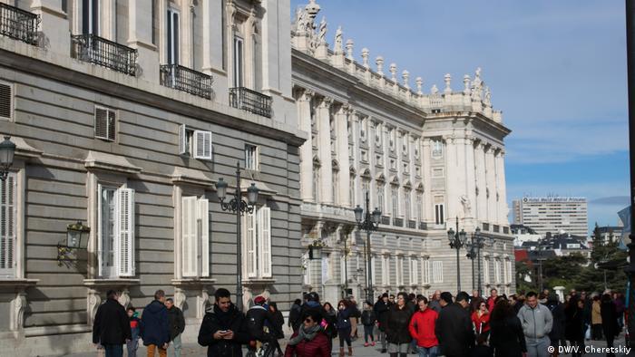 Spanien | Königspalast in Madrid (DW/V. Cheretskiy)