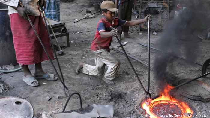 Bangladesch Kinderarbeit in Dhaka
