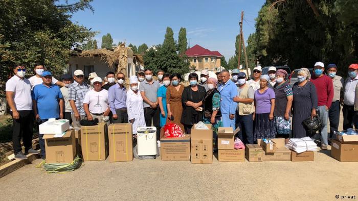 Freiwillige bei einer ihrer Hilfsaktionen | Coronavirus