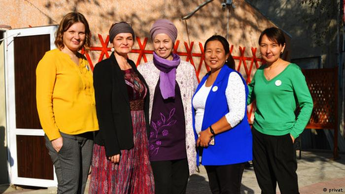 Maren Ernst mit Kolleginnen in Bischkek | Coronavirus