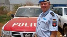 Politischer UN-Einsatzleiter im Südsudan: Klaus Dieter Tietz. Eingestellt am 08.04.2010. Copyright: DW/Dagmar Wittek