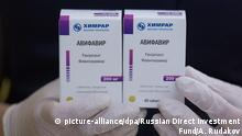 Medikament Avifavir gegen COVID-19