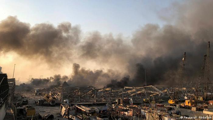 Точна кількість постраждалих від вибуху в Бейруті поки невідома