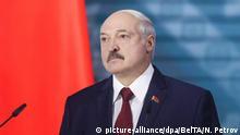 Weißrussland Minsk | Präsident Alexander Lukaschenko hält eine Rede
