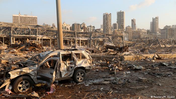 Conmoción mundial por dantescas explosiones en Beirut | El Mundo ...