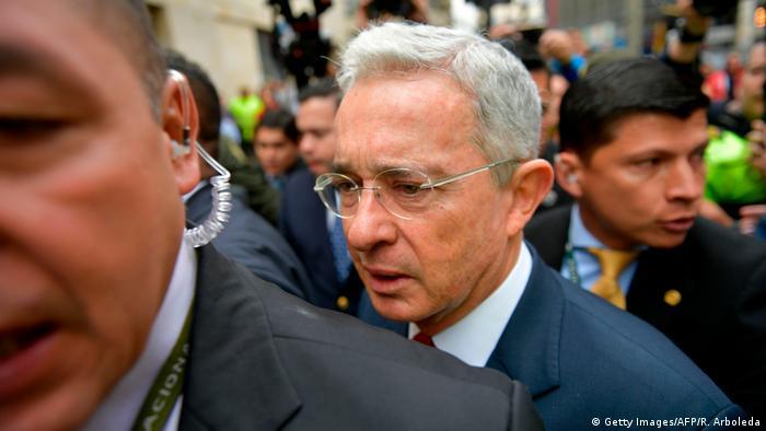Ex-President Alvaro Uribe