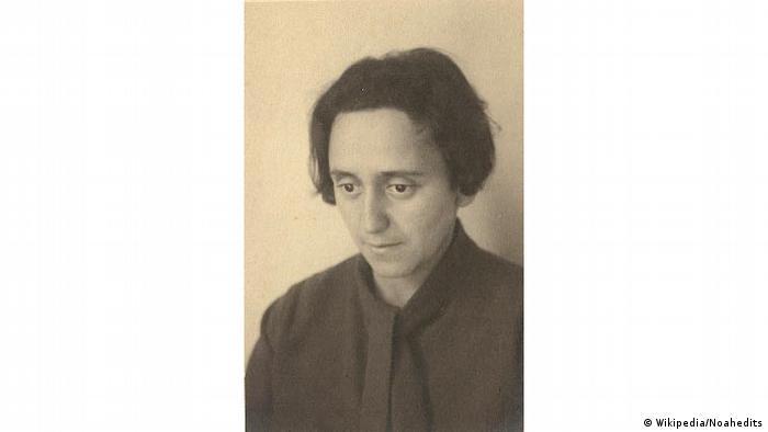 Architect Lotte Cohn, 1924 (Wikipedia/Noahedits)